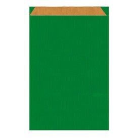 Paper Envelope Kraft Green 26+9x38cm (125 Units)