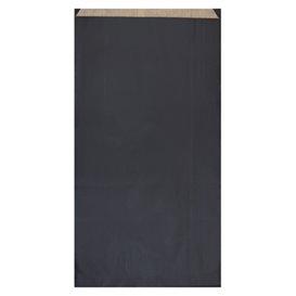 Paper Envelope Kraft Black 19+8x35cm (750 Units)