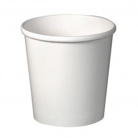 Paper Container White 16Oz/473ml Ø9,8cm (500 Units)