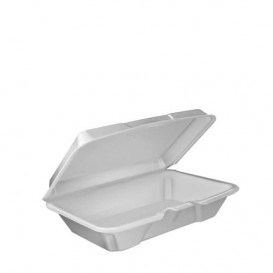 Foam Take-Out Container Asian 2,40x1,40x0,70cm (200 Units)