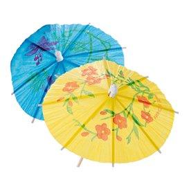 Ice Cream Decorating Set Parasol Design 15cm (100 Units)