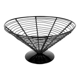 Serving Basket Containers Steel Ø23x12,5cm (1 Unit)