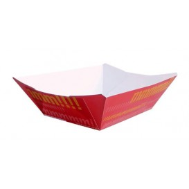 Paper Food Boat Tray 300ml 11,0x7,0x3,5cm (1000 Units)