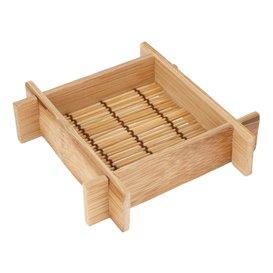 Bamboo Tray 12x12x3cm (20 Units)