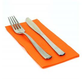 Paper Napkin Double Point Orange 1/8 40x40cm (1.200 Units)