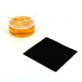 Paper Napkin Black 20x20cm 2C (6.000 Units)