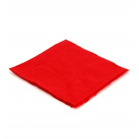 Paper Napkin Red 20x20cm (100 Units)
