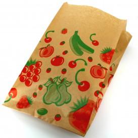 Paper Food Bag Fruit Design 22+12x36cm (1000 Units)
