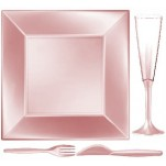 Design Disposable TableWare Peach Pearl