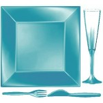 Design Disposable TableWare Tiffany Pearl