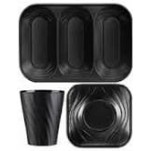 Disposable TableWare X-Table Black
